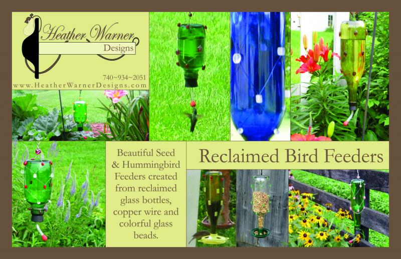Bird Feeders Postcard